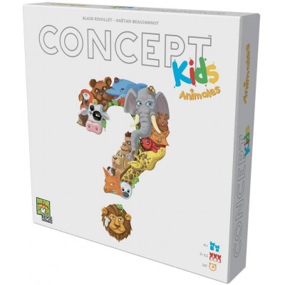 CONCEPT KIDS ANIMALS ASMODEE